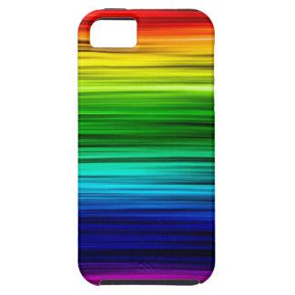 Caja fresca del arco iris iPhone 5 cobertura