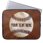 Caja fresca del ordenador portátil del béisbol del funda ordendadores