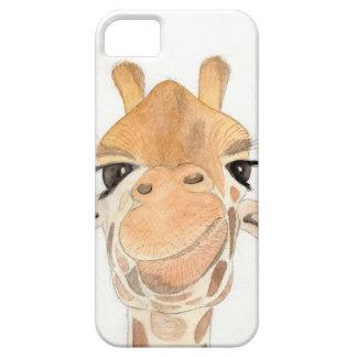 Caja fresca del teléfono de la jirafa funda para iPhone SE/5/5s