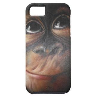 Caja fresca del teléfono del mono iPhone 5 coberturas