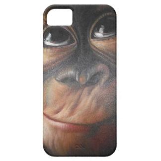 Caja fresca del teléfono del mono iPhone 5 cárcasa