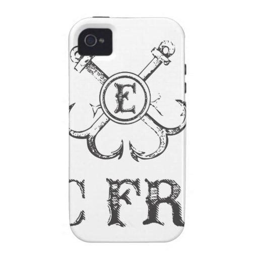 Caja fresca épica del teléfono del logotipo vibe iPhone 4 carcasa