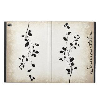 Caja frondosa del aire del iPad del diseño de la