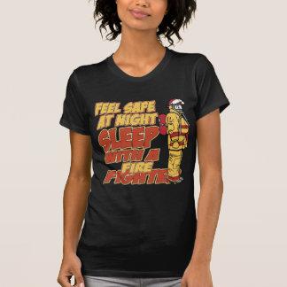 Caja fuerte de la sensación, sueño con un bombero camisetas