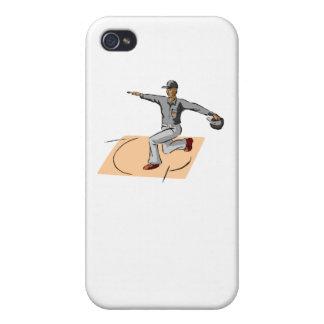 Caja fuerte del árbitro del béisbol iPhone 4 coberturas