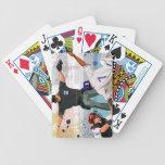 Caja fuerte en casa baraja cartas de poker