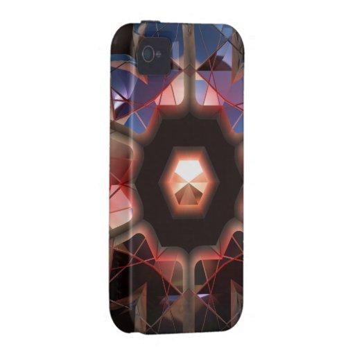 Caja futurista de la casamata de Chrystal X7-11 Case-Mate iPhone 4 Carcasa