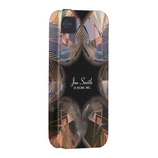Caja futurista de la casamata de Chrystal X7-2 Case-Mate iPhone 4 Carcasas
