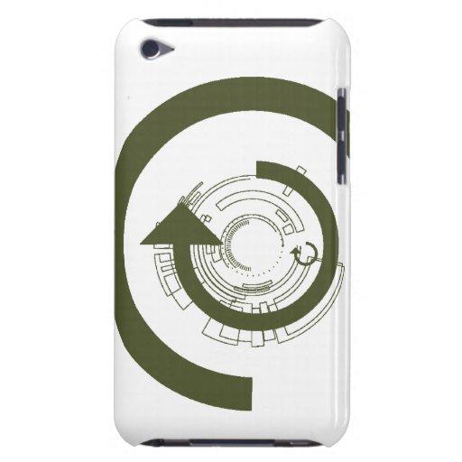 Caja g de la casamata de la flecha de C iPod Touch Case-Mate Coberturas