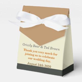 Caja gay simplificada del favor del boda de la paquete de regalo