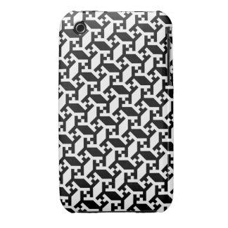 Caja geométrica de la casamata del iPhone 3 del Carcasa Para iPhone 3