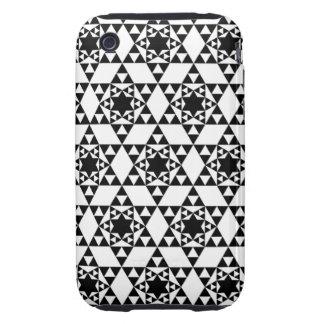 Caja geométrica de la casamata del iPhone 3 del Funda Resistente Para iPhone 3