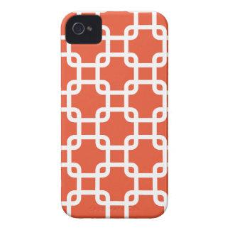 Caja geométrica de los cuadrados el   IPhone 4 Case-Mate iPhone 4 Cárcasas