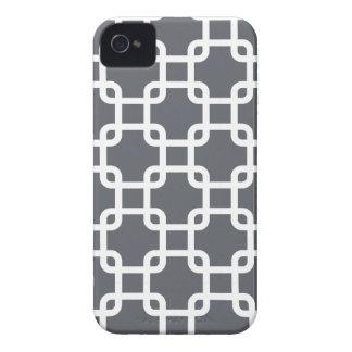 Caja geométrica de los cuadrados el   IPhone 4 iPhone 4 Funda