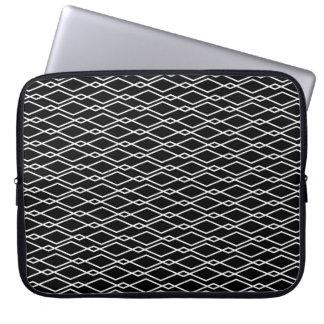 Caja geométrica del ordenador portátil del fundas computadoras