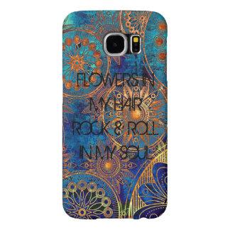 Caja gitana de la galaxia S6 de Samsung Funda Samsung Galaxy S6