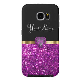 Caja glamorosa para la galaxia S6 Fundas Samsung Galaxy S6