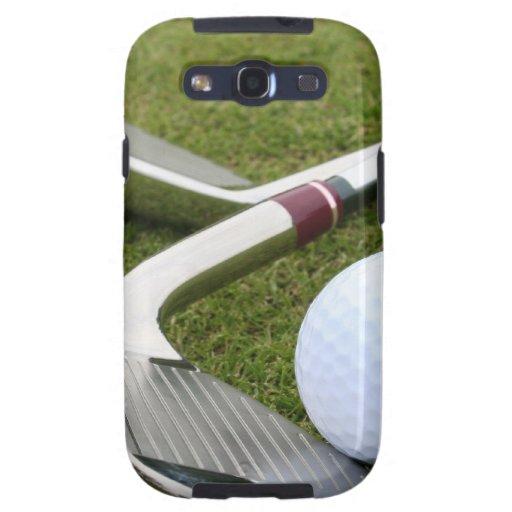 Caja Golfing de la galaxia de Samsung Samsung Galaxy S3 Cárcasa