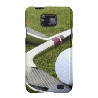 Caja Golfing de la galaxia de Samsung Samsung Galaxy S2 Fundas