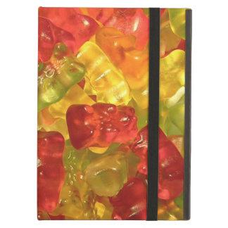 Caja gomosa linda del aire del iPad de los osos
