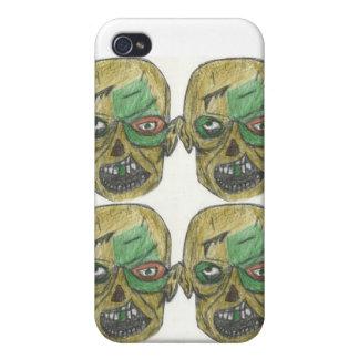 Caja goteada cuatro de IPhone del zombi iPhone 4/4S Carcasa