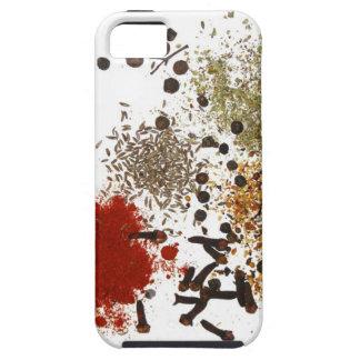 Caja gráfica de las especias del foodie del top de iPhone 5 Case-Mate cárcasa