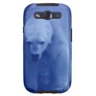 Caja grande del teléfono del oso polar galaxy SIII fundas