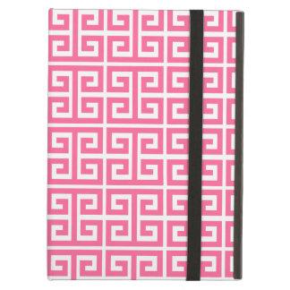 Caja griega rosada moderna del aire del iPad del m