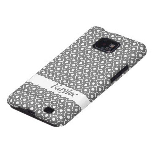 Caja gris de la galaxia S de Samsung del modelo 1  Samsung Galaxy SII Carcasa