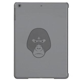 caja gris del aire del ipad del gorila funda para iPad air