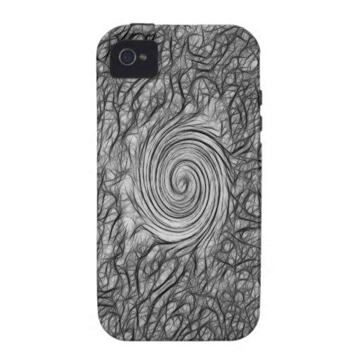 Caja gris del ambiente de Whirlpool Iphone 4 Case-Mate iPhone 4 Funda