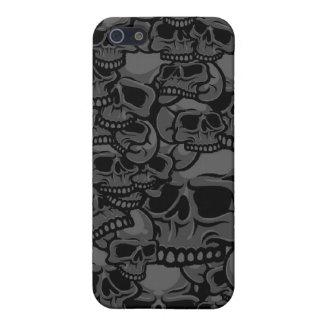 caja gris del cráneo iPhone 5 coberturas