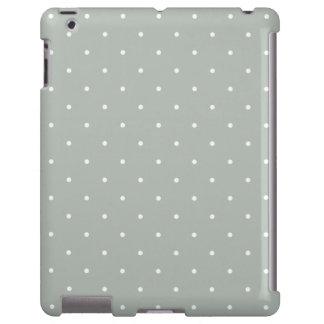 Caja gris del iPad 2/3/4 del lunar del estilo de l