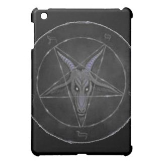 Caja gris del iPad de Baphomet