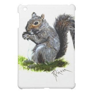 Caja gris del iPad de la ardilla