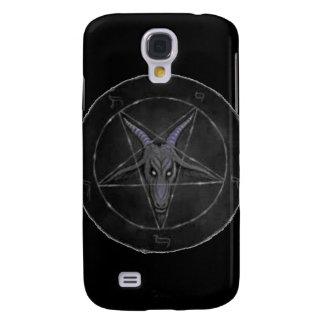 Caja gris del iPhone 3G de Baphomet Carcasa Para Galaxy S4