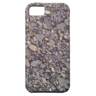 Caja gris del iPhone 5 de la roca del lago iPhone 5 Funda