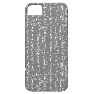 Caja gris del iPhone 5 de las ecuaciones de la Funda Para iPhone 5 Barely There