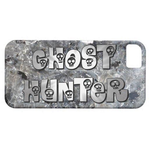 Caja gris del iphone 5 del cazador del fantasma de iPhone 5 Case-Mate cobertura