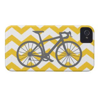 Caja gris del iPhone de la bicicleta Case-Mate iPhone 4 Funda