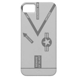 Caja gris del motor del combatiente - caso de la i iPhone 5 carcasa