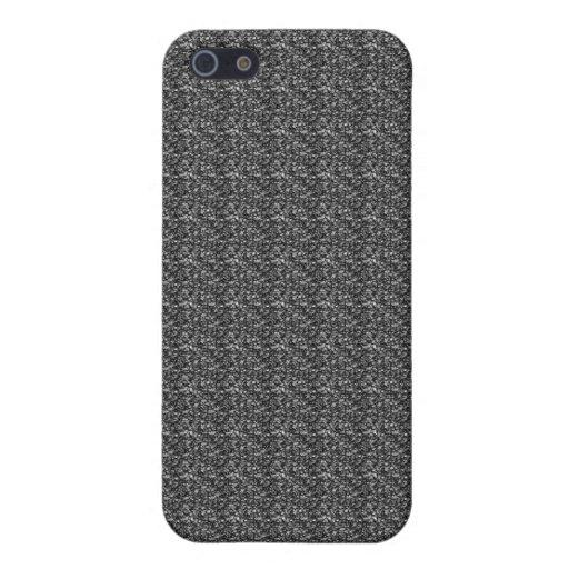 Caja gris del teléfono celular del iPhone 5 del mo iPhone 5 Fundas