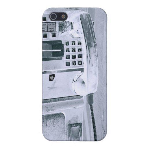caja gris del teléfono de la calle iPhone 5 carcasas