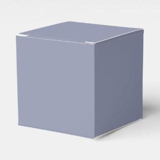 Caja gris fresca del favor caja para regalos de fiestas