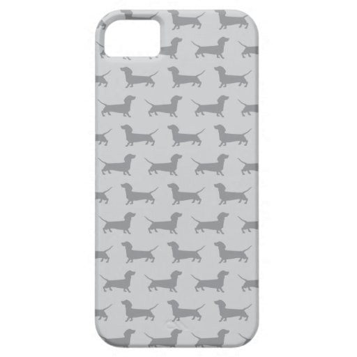Caja gris linda del iPhone 5 del modelo del perro  iPhone 5 Case-Mate Cárcasas