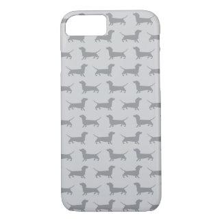 Caja gris linda del iPhone 7 del modelo del perro Funda iPhone 7