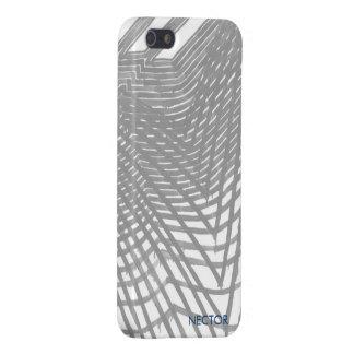 Caja gris moderna 5 y 5s del iPhone iPhone 5 Funda