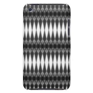 Caja gris moderna de las rayas para el tacto de iPod Case-Mate coberturas