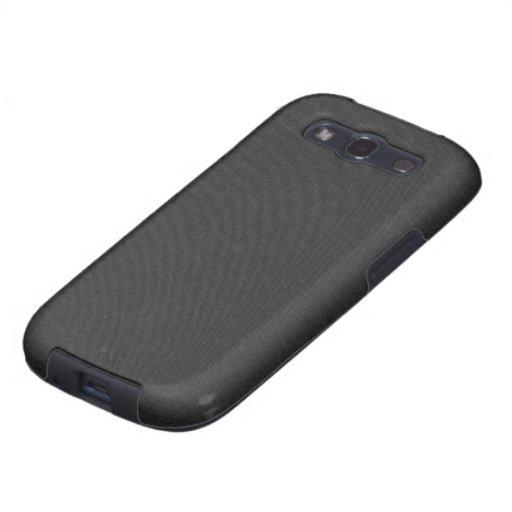 Caja gris oscuro de la galaxia S3 de Samsung de la Galaxy S3 Coberturas