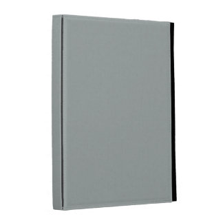 Caja gris sólida del iPad de Paloma